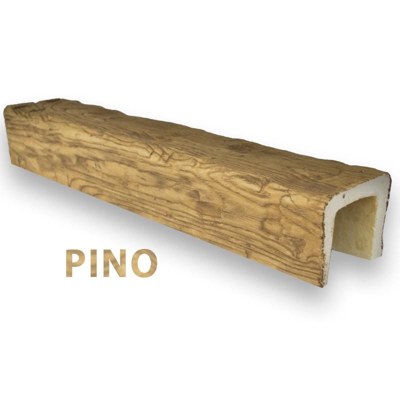 Viga imitación madera 12x8x300
