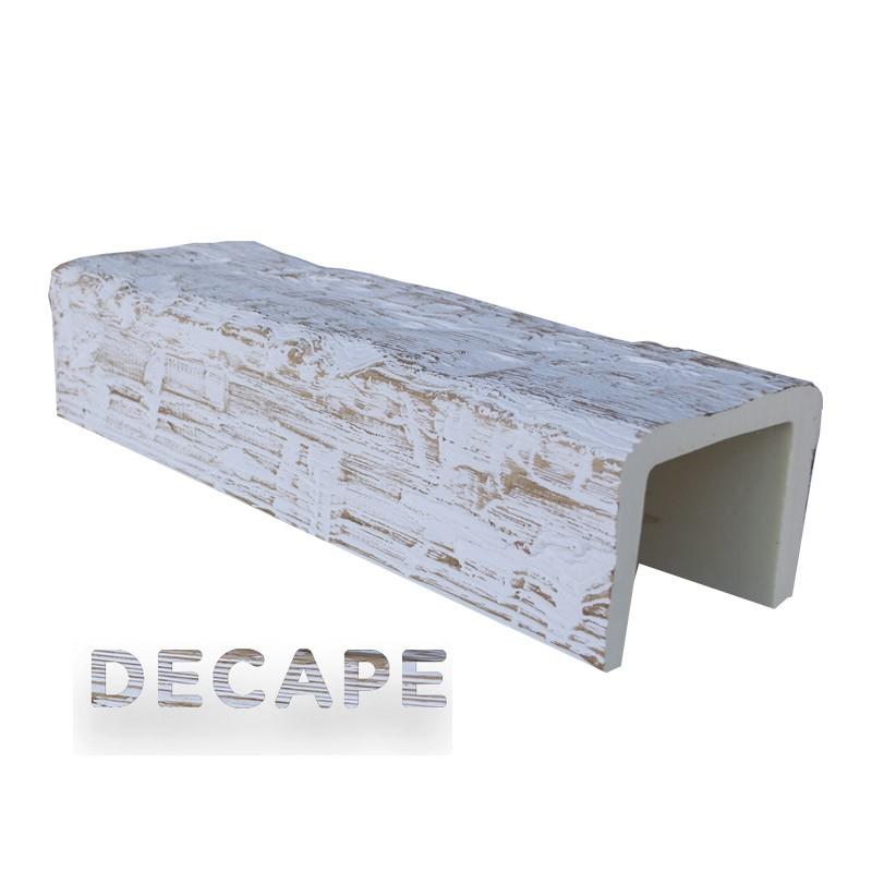 Viga imitación madera 17x13x300