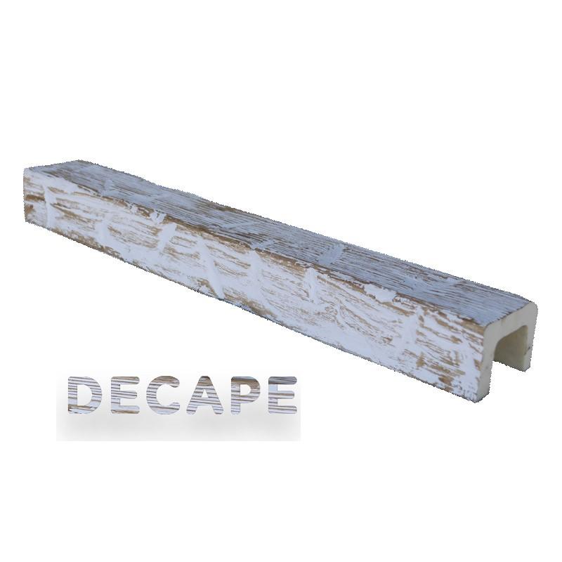 Viga imitación madera 8x6x300
