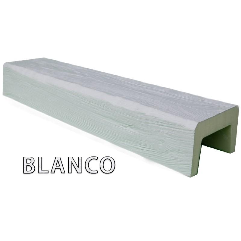 Viga imitación madera 14x9x400