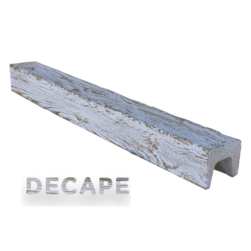 Viga imitación madera 7x5,5x400