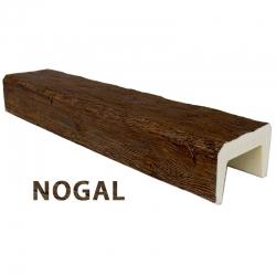 Viga imitación madera 14x9x300